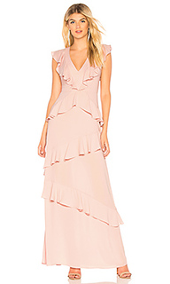 Вечернее платье ruffled - BCBGMAXAZRIA