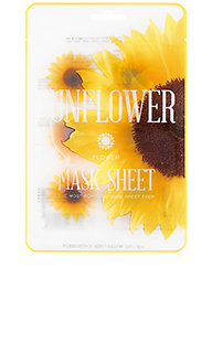 Тканевая маска flower mask sunflower - KOCOSTAR