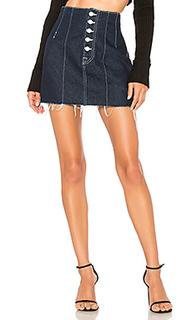 Twiggy super high-rise mini skirt - GRLFRND