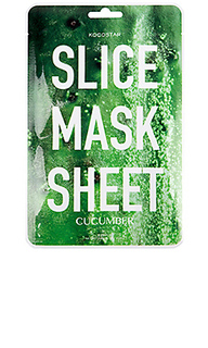 Тканевая маска slice mask sheet cucumber - KOCOSTAR