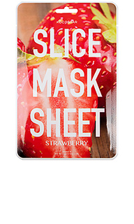 Тканевая маска slice mask sheet strawberry - KOCOSTAR
