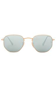 Солнцезащитные очки hexagonal flat lens - Ray-Ban