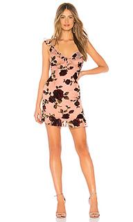 Мини-платье с цветочным рисунком adonia - About Us