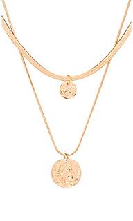 Чокер double coin - EIGHT by GJENMI JEWELRY