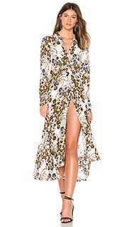 Платье с застёжкой на пуговицы и с поясом tough love - Free People