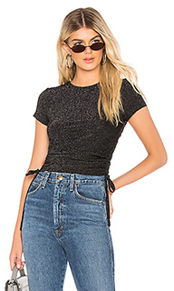 Jeanine ruched tie top - by the way.