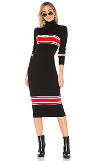 Платье миди sport stripe - Free People