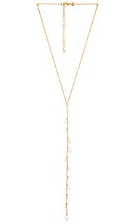 Ожерелье floating pearls - Rebecca Minkoff