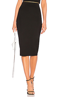 Юбка миди fitted midi skirt - LPA