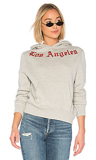 Embroidered oversize fleece - KENDALL + KYLIE