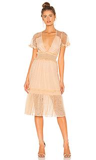 Платье миди dimas - House of Harlow 1960