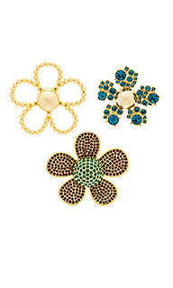 Daisy pave brooch set - Marc Jacobs