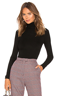 Топ fitted turtleneck - Enza Costa