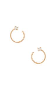 Серьги-кольца leilani - Natalie B Jewelry