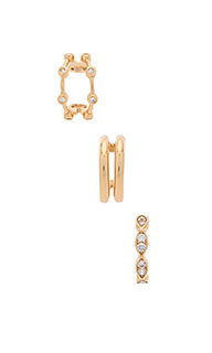 Набор ушных манжет kiana - Natalie B Jewelry