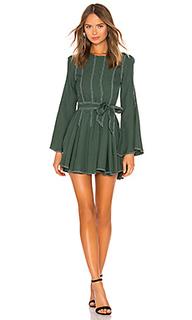 Мини-платье с длинным рукавом nicole - Tularosa