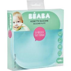 Тарелка из силикона Beaba Silicone suction plate, голубой BÉaba
