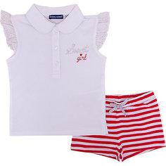 Комплект :футболка поло,шорты Original Marines для девочки
