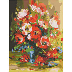 "Картина по номерам Color KIT ""Красные маки"", 40х50 см"