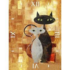 """Алмазная вышивка Color KIT """"Алмазные часы"""" Влюблённые, 30х40 см"""