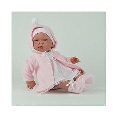 """Кукла-пупс Asi """"Мария"""" в розовой кофте с капюшоном, 43 см"""