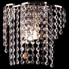 Накладной светильник 12066/1 золото Strotskis Eurosvet
