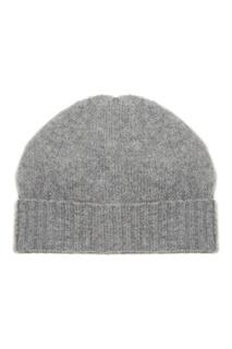 Серая шапка с отворотом Allude