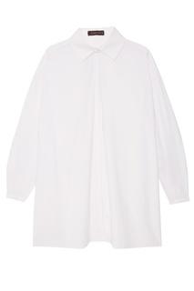 Белая блузка oversize Chapurin