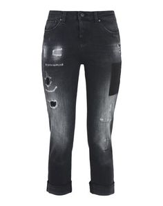 Джинсовые брюки-капри Armani Jeans