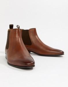 Светло-коричневые кожаные ботинки челси ALDO Chenadien - Рыжий
