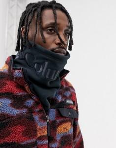 Черный флисовый шарф Columbia CSC - Черный