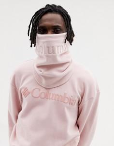 Розовый флисовый шарф Columbia CSC - Розовый