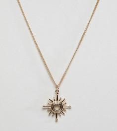Золотистое ожерелье с подвеской Liars & Lovers - Золотой
