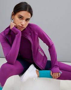 Спортивная куртка с молнией Esprit - Фиолетовый