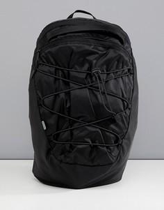 Черный рюкзак в стиле милитари со светоотражающим элементом ASOS 4505 - Черный