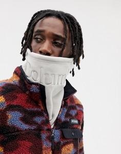 Серый флисовый шарф Columbia CSC - Серый