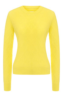 Кашемировый пуловер с круглым вырезом Maison Margiela