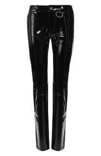 Кожаные брюки прямого кроя Zadig&Voltaire