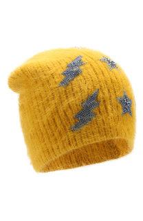 Шерстяная шапка с отделкой из кристаллов Jennifer Behr