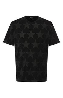 Хлопковая футболка с принтом Just Cavalli