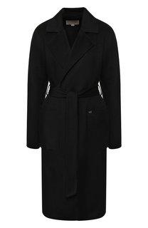 Однотонное пальто с поясом MICHAEL Michael Kors