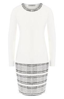 Шерстяное платье с круглым вырезом D.Exterior