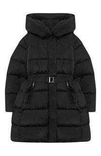 Пуховой пальто с капюшоном Add