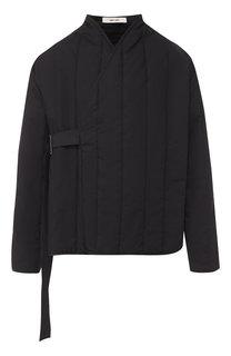 Хлопковая стеганая куртка с декоративной застежкой Damir Doma