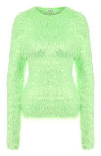 Однотонный пуловер с круглым вырезом Balenciaga