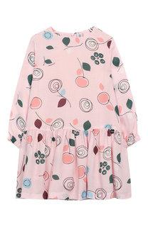 Платье свободного кроя из вискозы Simonetta