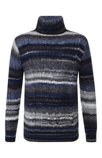 Шерстяной свитер фактурной вязки Paul&Shark