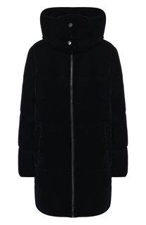 Куртка с воротником-стойкой и капюшоном MICHAEL Michael Kors