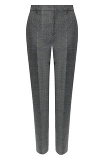 Шерстяные брюки со стрелками Balenciaga