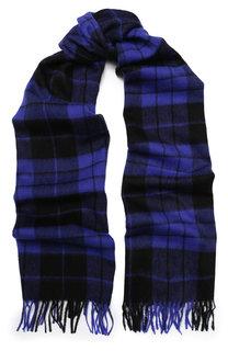 Шерстяной шарф в клетку Escada Sport